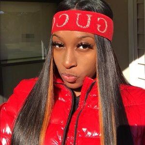 Gucci winter headband/ red